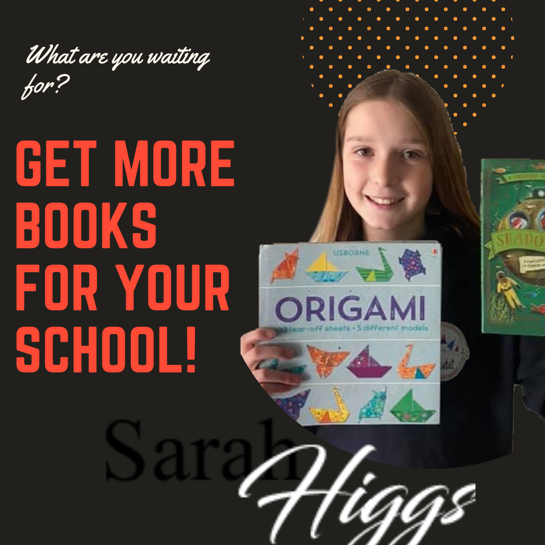 Learn how to get more Usborne Books into your school